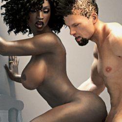 Simulateur de sexe interracial